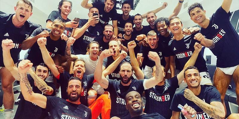 La Juventus è campione d'Italia: 36° scudetto, 9° consecutivo