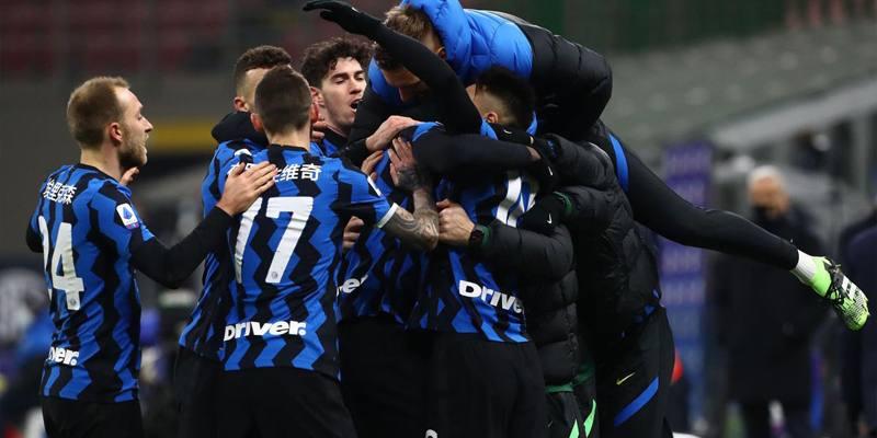 L'Inter ha vinto il campionato di calcio di serie A 2020/2021