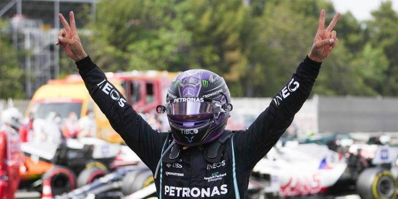 Lewis Hamilton ha vinto il Gran Premio di Spagna