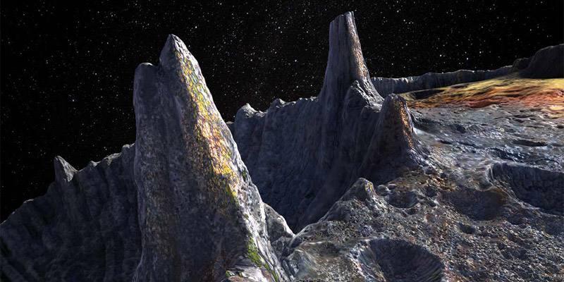 16 Psyche, l'asteroide che contiene più metalli di quelli presenti sulla Terra