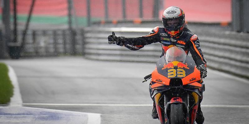 Brad Binder ha vinto il Gran Premio d'Austria della MotoGP